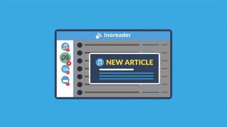 inoreader rss 订阅器