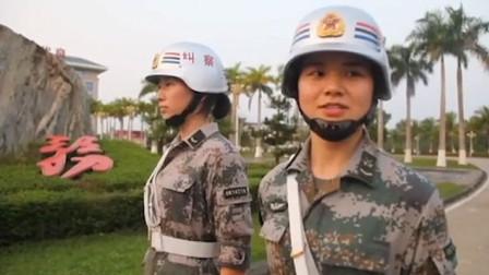 银头盔白手套!实拍解放军女纠察:平均身高1米7的女兵