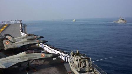 兵鉴 印72艘军舰60架战机出动,航母核潜艇顶在最前