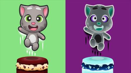精彩别错过!汤姆猫的叠叠乐游戏用的是夹心饼干?
