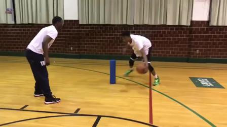 篮球技巧教学, 教你10种基础运球衔接出手投篮训练方法!