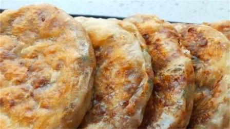 酱香肉饼,皮酥饼软,肉馅酱香味十足,简直太好吃了!