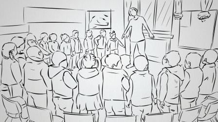 """""""别怕 老师在呢"""" 手绘还原:响水爆炸幼儿园长转移上百名孩子"""