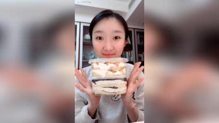 两个盒子蛋糕, 芒果千层很好吃