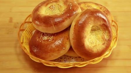 1个鸡蛋,1包牛奶,教你做烤饼,口感细腻奶香浓郁,做法超简单
