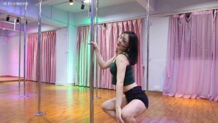 性感简单钢管舞