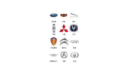 汽车标志大全、认识一半以上的算你厉害!