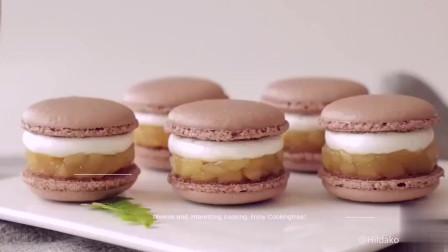 超治愈美食教程:苹果马卡龙 Apple Macaron