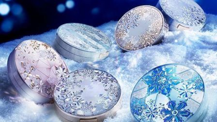 資生堂Snow Beauty粉餅接受預訂 全新冰藍雪花設計 7月夢幻登場