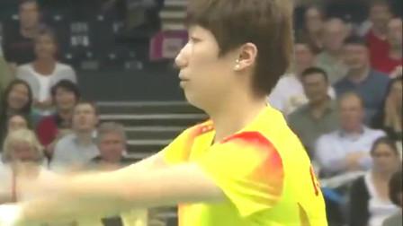 好搞笑的羽毛球消极比赛,第一次看到这样毫无激情的比赛!