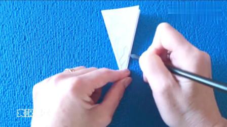 小学生剪纸教程,冬天教你剪雪花,既动手又动脑