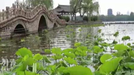 泉城济南景点,感受大明湖的神奇之处,领略大自然之美