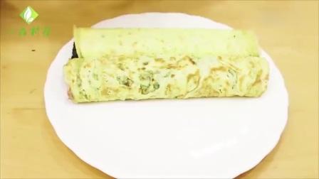 鸡蛋别再炒着吃, 用这种做法煎鸡蛋卷怎么做才好吃,你学会了么