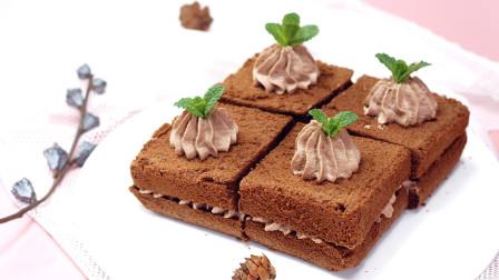 巧克力控爱吃的裸蛋糕,香味浓郁、细腻松软,Pick 一下?