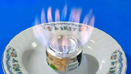 用易拉罐制作微型酒精炉过程,脑洞大开!