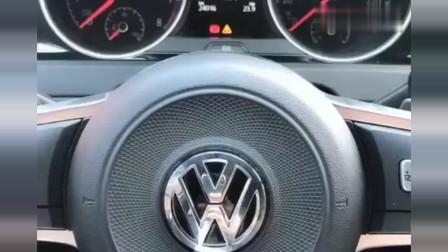 德系大众车的灯光使用,真是太全面了!