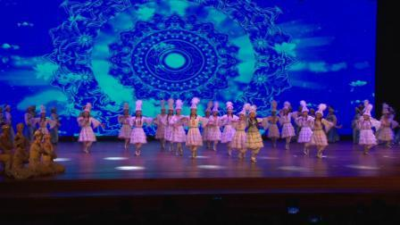 奎屯市八中教育成果展示  音诗画舞《我们都是一家人》