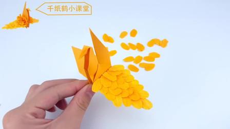 手工小课堂开课了,手把手教你制作千纸鹤,赶紧行动吧