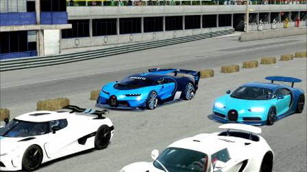 布加迪VS超级跑车