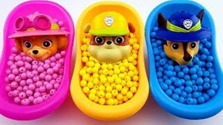 萌宝最爱玩的宝宝娃娃浴,早教启蒙认知小朋友学习认识颜色啦!