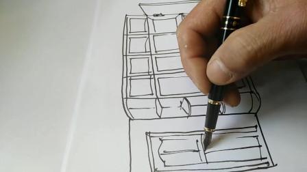 全屋定制设计师,衣柜原来这样手绘,学习一下!