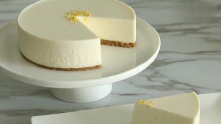 免焗柠檬芝士蛋糕,看起很不错,好想吃一口!