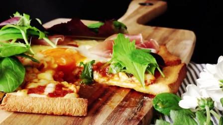 芝士就是力量!简单易学的芝士新吃法,见过用吐司做的披萨吗?
