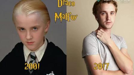 长大后的哈利波特是丑是帅?看看长大前后的对比你就知道