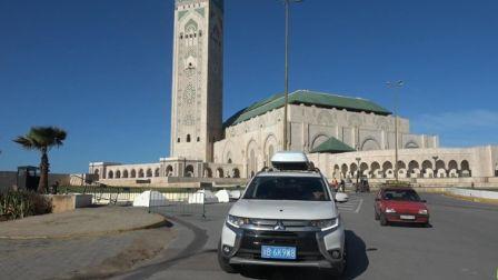 穿越欧亚大陆第二十七集 到达摩洛哥马拉喀什,感受来自非洲的套路