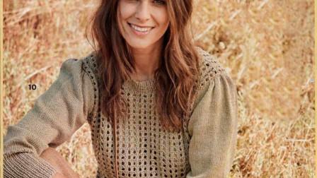 春款针织衫花样的编织方法,简单漂亮,给儿童织也不错好看又简单