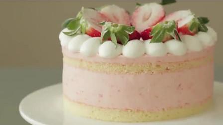 草莓巧克力蛋糕,独家秘籍草莓巧克力的做法,步骤超简单,每天一块改善便秘