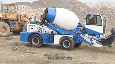 一辆混凝土搅拌车也能这么用?性能强大,性价比更高!