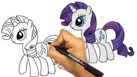 卡通人物绘画教学!小朋友今天我们一起来学习如何画帅气的飞马吧!