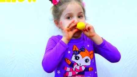 萌娃萝莉:少儿亲子游戏!小萝莉创意十足,吹什么颜色的气球脸会变什么颜色,好神奇