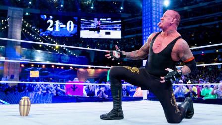 摔跤狂热 WWE的传奇送葬者在摔跤狂热大赛历史上豪取21连胜