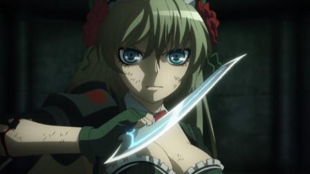 魔法少女血拼凶恶钢铁侠!妹子手都被打掉了,却依然坚持战斗!