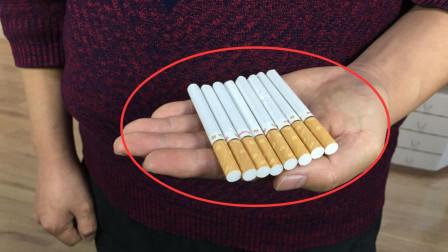 神出鬼没的香烟,为什么香烟能从手心里瞬间消失?揭秘后我服了