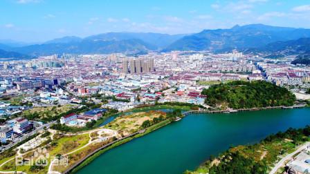 地图里看城市化,台州市仙居县城市化进程
