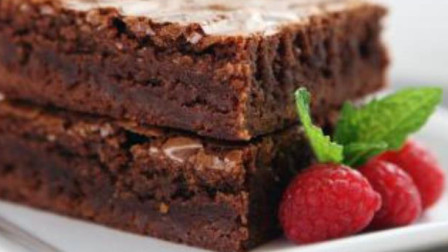 巧克力布朗尼蛋糕的做法,布朗尼蛋糕怎么做好吃又漂亮,这样做特别适合情人节