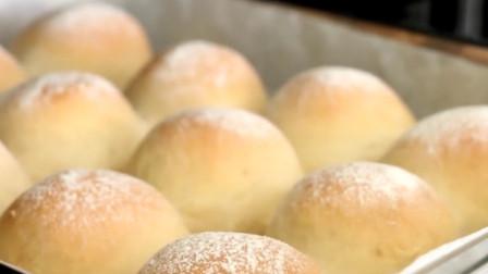 「烘焙教程」5分钟做日本牛奶面包,松松软软好吃真给力