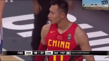 太厉害了,郭艾伦的闪电般反击打垮韩国男篮,教练席都被惊呆了