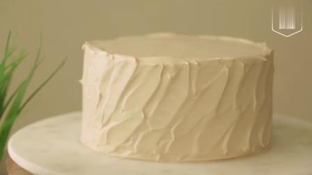 蛋糕师傅制作牛奶千层蛋糕,奶油控看过来