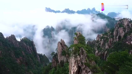 安徽黄山旅游, 风景太壮观了