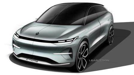 零跑汽车发布了其全新C平台概念车设计图
