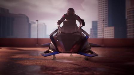 飞行摩托车 Speeder 接受订购, 售价 38 万美元时速 240 km/h