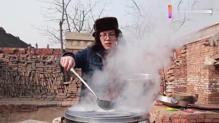 山西很有名的美食, 是非物质文化遗产, 农村小伙教你怎么做!