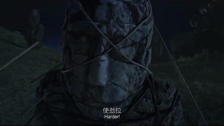 内蒙草原石像密布,村民推倒后,竟被石像里的怪物吃的一干二净!