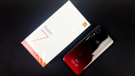 红米7开箱上手:一款配色比配置吸引人的手机