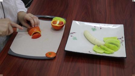 水果拼盘:简易型创意水果拼盘,好看又营养孩子们肯定喜欢吃!