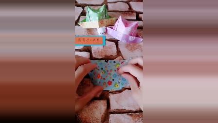 少儿折纸,万圣节帽子,月底就到万圣节了,有人知道这个节日吗?,学起来吧